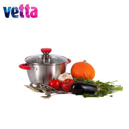 Steel Induction Canada - Pan Vetta Tyrol 24h 13sm ,5 ,4l .So Glass .Cover ,Induction Utensils ,Knife ,Tool ,Woman ,High Quality ,Set 822 -097
