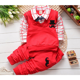 $enCountryForm.capitalKeyWord NZ - 2018 spring autumn baby boy clothing sets Toddler Infant casual outfits tracksuit Bow tie jacket+ pants boys sport suit