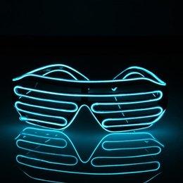 AKDSteel Criativo LED Twinkling Óculos Sensor de Som EL Lightening Óculos Adicionando Atmosfera Emocionante para Bar Bola Vestir Extravagante