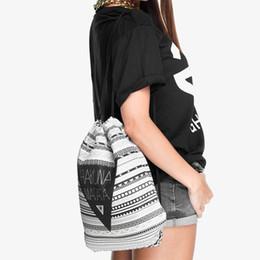 Cloth Bouquet Australia - Cloth Bag Drawstring Women's Bag 3D Digital Print Bouquet Pocket Backpack Thin section trend 5 5000 Xngxng shzi Orangutan lion