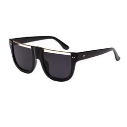 75824b56df HOT SALE 2018 Vintage Sunglasses Women Men Student Big box Designer Fashion  Plain Glass Sunglasses lentes de sol hombre A20