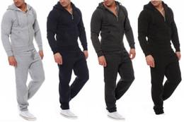 Leg Jacket NZ - mens designer winter tracksuit hoodie legging outfits long sleeve sports set jacket tights sport suit coat pants sportswear mens clothing q9