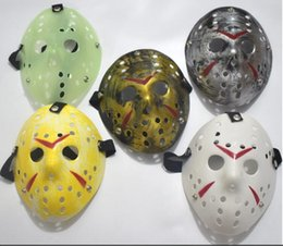 $enCountryForm.capitalKeyWord Australia - Archaistic Jason Mask Full Face Antique Killer Mask Jason vs Friday The 13th Prop Horror Hockey Halloween Costume Cosplay Mask in stock