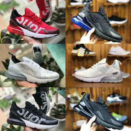 separation shoes c2452 93bad 2018 nike air max 270 vapormax airmax 270 flyknit shoes Zapatos Deportivos  Deportivos cheap airs 270S Negro Blanco Rojo Blue Cushion trainer Sneakers  Run ...