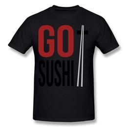 $enCountryForm.capitalKeyWord Canada - New Design Man 100% Cotton New Go Sushi T-Shirt Man Round Neck Dark Green Short Sleeve Tee Shirt S-6XL Custom T-Shirt