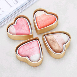 $enCountryForm.capitalKeyWord Canada - SexeMara Long-lasting Waterproof Eye Shadow Blush Palette Pink High-gloss Eye Shadow Heart-shaped Face Pearl Cosmetics