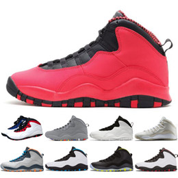 ee261f6e8bdea4 10 10s Westbrook Cool Grey I m Back men basketball shoes Drake Bobcats  Stealth mens Sports Sneakers trainers outdoor designer running shoes