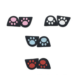 Ps4 r2 online shopping - Cat Paw Custom Design Silicon Silicone Trigger Buttons Sticker with Adhensive for PS4 Controller L2 R2 Button Stickers Cover FAST SHIP