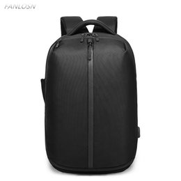 2f2bff4e07d3 FANLOSN Backpack canvas 15.6 inch laptop Travel bag waterproof Backpacks  fashion men shoes pocket student bags High capacity