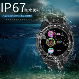 Discount 3g watch phones waterproof - 3G Smart Watch X100 MTK6580 Android 5.1 Dual Core Heart Rate GPS WiFi Smartwatch IP67 life waterproof for Android phone