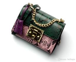 Genuine Leather Bag Design Canada - superstar brand luxury handbags Serpentine bag Brand design genuine Leather Bag Chain Bag Crossbody and Shoulder Bags BEST QUALITY