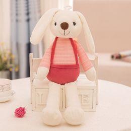 $enCountryForm.capitalKeyWord NZ - wholesale Soft Plush Rabbit Stuffed Toy Baby Bed Pillow Toy Kids Baby Kawaii Kid Baby Birthday Gift free ship