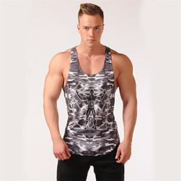 $enCountryForm.capitalKeyWord Australia - 2018 Summer Men's Tank Top New Camouflage Gyms Tank Top Men Bodybuilding Good Quality EU Size Mens Singlet Sleeveless shirt