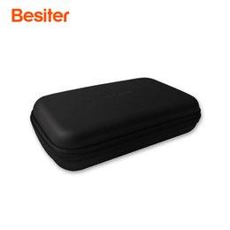 Besite Güç Banka Vaka Harici Depolama Sabit Kutu HDD SSD Çantası Sabit Disk Için USB Kablosu Şarj Adaptörü Taşınabilir Koruma ...