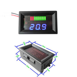 Led Dvd Player NZ - Freeshipping 6v 12v 24v 36v 48v 60v 72v Lead-acid Battery Capacity Tester Indicator Detector
