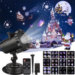 0006594d7d2 Proyector láser de Navidad Efecto de animación IP65 Interior   Exterior  Proyector de Halloween 12 patrones Copo de nieve   Muñeco de nieve Luz láser