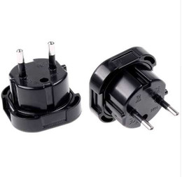Discount electrical adapters - 2 Pin Wall Plug Electrical Socket UK TO EU EUROPE EUROPEAN Universal Travel Charger Adapter Plug Converter 10A 16A 240V