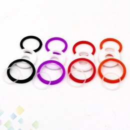 Discount cobra rings - TFV12 Prince Cobra Edition Tank O Rings fit TFV12 Prince Cobra Atomizer Full Kit Silicon O Ring Ecig Accessories DHL Fre