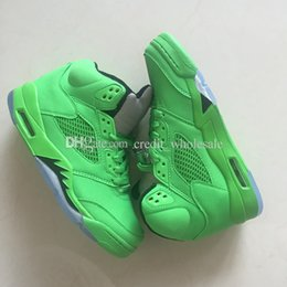 $enCountryForm.capitalKeyWord Canada - 2018 Cheap Hot Kids 5 5s V Green mens Basketball Shoes Athletic Sports Sneakers trainers outdoor designer running shoes for men Size 41-47