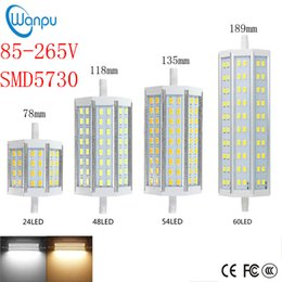 R7s eneRgy saving bulb online shopping - R7S LED Corn Light SMD5730 W W W W mm mm mm mm LED Spotlight Bulb Energy Saving Replace Halogen Lamp