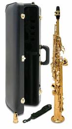 Ingrosso Giappone S-901 BB Soprano Soprano Saxophone Strumenti musicali di alta qualità Yanagisawa Case regalo professionale