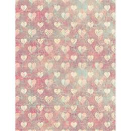 Love Backdrops UK - Digital Printing Love Hearts Vinyl Backdrops for Photography Baby Newborn Photo Shoot Wallpaper Retro Style Kids Photographic Backgrounds