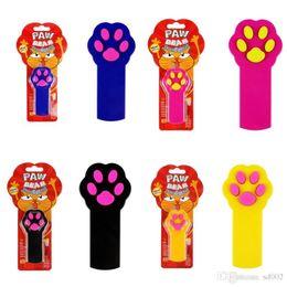 $enCountryForm.capitalKeyWord Australia - Red Pointer Cat Toys Creative Funny PAW BEAM Light Stick Dog Exercise Toy Indicator Pet Play 7 5sn ii