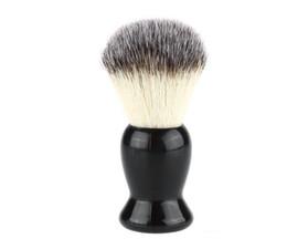 Superb Barber Salon Shaving Brush Black Handle Blaireau Face Beard Cleaning Men Shaving Razor Brush Cleaning Appliance Tools on Sale