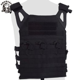 Paintball tactical gear online shopping - SINAIRSOFT Tactical JPC Vest Body Armor Plate Carrier Molle Camouflage Army Vest Ammo Magazine Chest Rig Airsoft Paintball Gear Vests