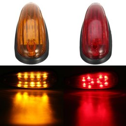 Discount trailer lights - 10Pcs 6Inch LED Clearence Lights Side Marker Lamp for Truck Bus Trailer Indicator 12V 24V