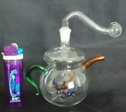 $enCountryForm.capitalKeyWord Australia - 2018 New Color Mini Teapot Style Glass Hookah  Glass Bong ,Easy To Carry ,Gift Accessories Df01