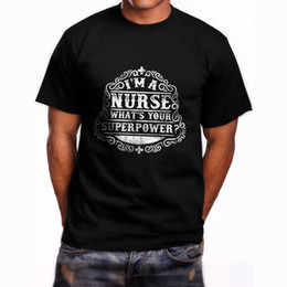 Nurses t shirts online shopping - I m a Nurse What s Your Superpower Short Sleeve Men s Black T Shirt Size S XL