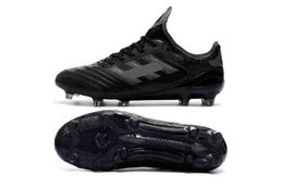 Discount copa mundial soccer shoes - 2018 new arrival mens leather soccer cleats Copa 18.1 FG soccer shoes copa mundial 18 chaussures de football boots scarp