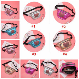 newest cell phones 2019 - 10 colors Newest Women Hologram Sequin Fanny Pack Heart Star Shape Design Bags Girls Laser Waist Bags Pack Holographic B