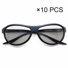 d5850f83c1 10 unids / lote Reemplazo AG-F310 Gafas 3D Polarizadas Gafas Pasivas para LG  TCL Samsung SONY Konka reald 3D Cinema TV computadora
