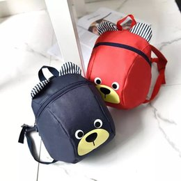 Wholesale New Korean Version Of Cute Cartoon Canvas Animal Design Children s Anti Backpack Year Old Boy And Girl Fashion Trend