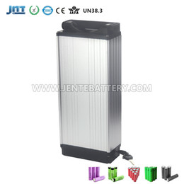China Free shipping EU AU US 48V 20AH Electric Bicycle Lithium Battery Rear rack battery Aluminum case E-bike Scooter battery in China suppliers