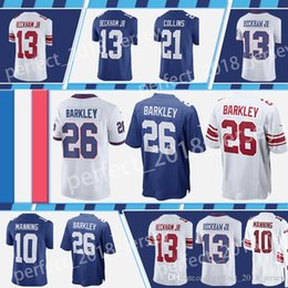 New York Giants 26 Saquon Barkley 21 Landon Collins 13 Odell Beckham Jr 10  Eli Manning 15 Brandon Marshall 87 Sterling Shepard 56 Lawrence T 1a1a2c4ad