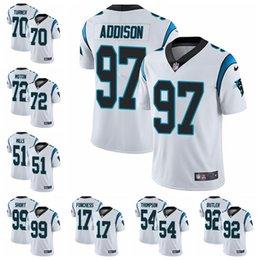 5fdf3fee3 Carolina Limited Road football Jersey Panthers White Vapor Untouchable 22  Christian McCaffrey 1 Cam Newton 59 Luke Kuechly 85