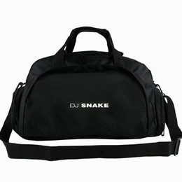 snake sport UK - Snake duffel bag Let Me Love You tote DJ star 2 way use backpack Music luggage Trip shoulder duffle Sport sling pack