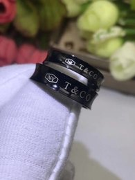 Nails chiNa online shopping - 316L Titanium steel nails rings lovers Band Rings Size for Women and Men in mm width brand jewelry Hot Sale PS5401