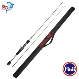 China Pole Australia - RoseWood Fuji Trout Fishing Rod EES 602UL 1.8m Fast Action Spinning Rod Casting Rod High Carbon Ultra Light Fishing Pole With Case China