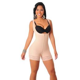 $enCountryForm.capitalKeyWord NZ - Hot Shaper Shapewear Plus Size 6XL Slimming Zipper Full Body Shaper Underwear Waist Corset Tummy Trimmer Firm Control For Women