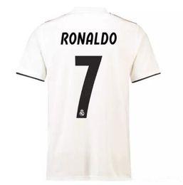 18 19 Real Madrid Soccer Jerseys RONALDO BALE ISCO ASENSIO MODRIC BENZEMA  KROOS Ramos Champions League 13 cup Thai football shirts 8b989c805