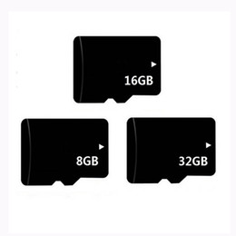 Discount mp3 player tf card Real Capacity 8GB 16GB 32GB Memory TF Card With Adapter for Cell Phone MP3 4 Player Tablet PC