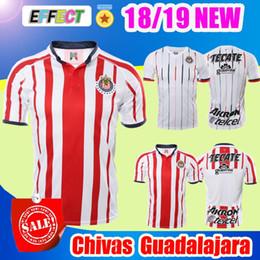New Arrived 18 19 MEXICO Club Classic Chivas de Guadalajara Home Away Soccer  Jersey 2018 A.PULIDO Camiseta de Futbol Football Shirts cdc8e493a