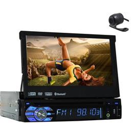 Бесплатная задняя камера + новейшая панель дизайна Съемный 7-дюймовый автомобильный DVD-плеер с GPS-навигатором в стильном автомобиле Автомобильное стерео радио