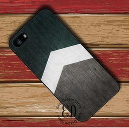 Phone Cases For Iphone 5c NZ - Free Shipping mobile Phone Arrow WIth Green Wood back cover case for iPhone 4s 5 5s SE 5c 6 6s 7 8 Plus X samsung note 8 s9 plus cover