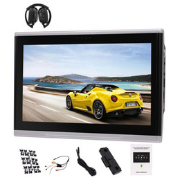 Discount android tablet car pc - Car Rear-seat Headrest Monitor 10.1 inch Android 6.0 Rear Headrest Player PC Tablet Monitor+IR Headphone 1080P Full Touc