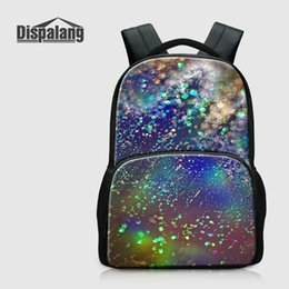 $enCountryForm.capitalKeyWord Canada - Unique Galaxy Backpacks For Middle School Student Universe Space Printing Schoolbags For Children Canvas Girls Mochila Escolar Boys Rucksack